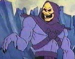 Skeletor as Skeletor